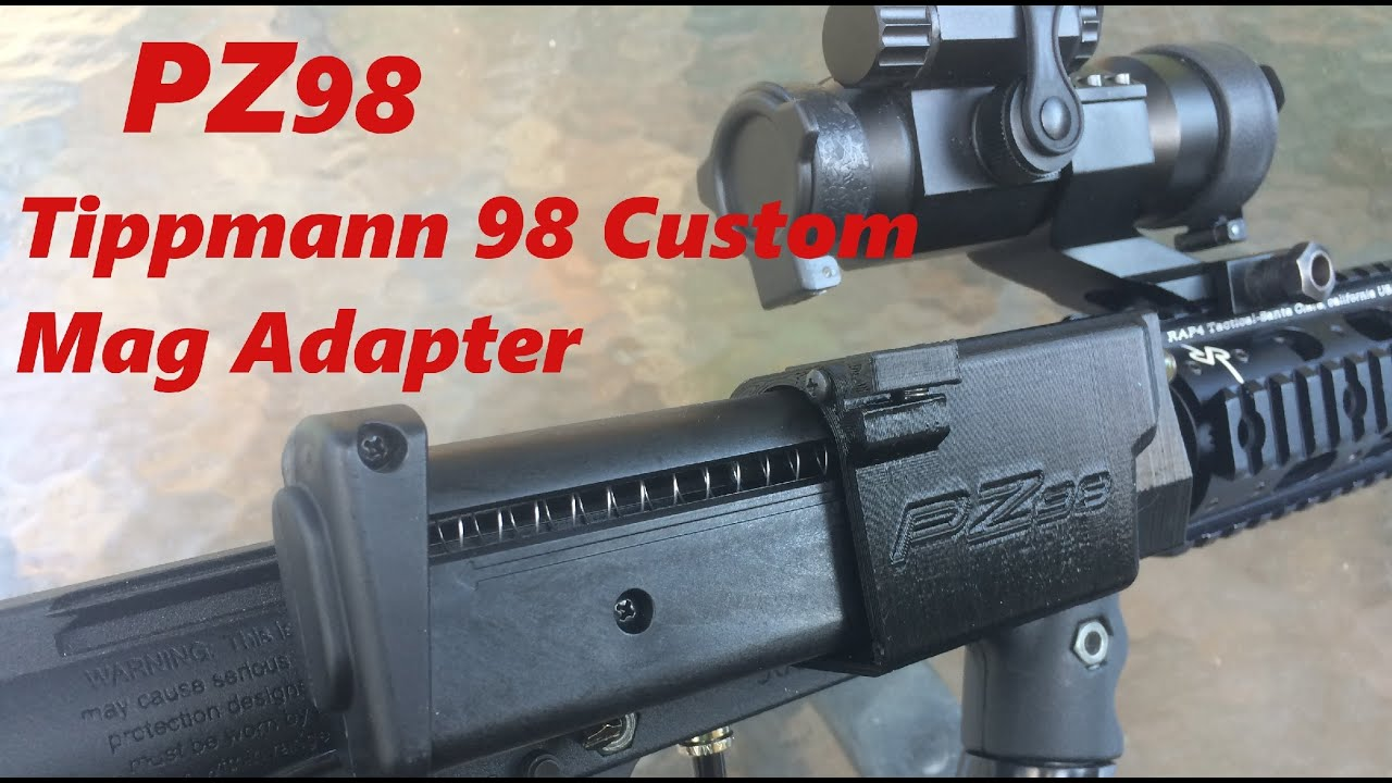 PZ98 Magfed Adapter