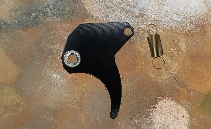 Wraith Trigger - Roller bearing trigger upgrade for the CCI Phantom