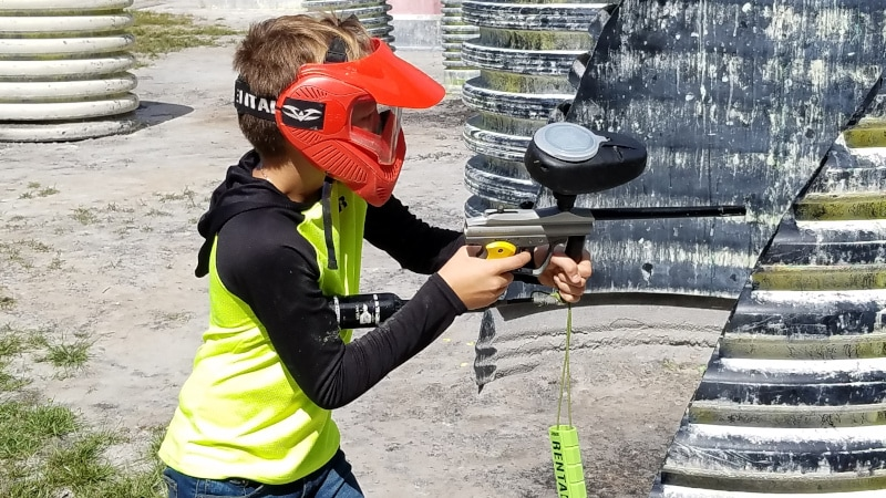 Low Impact Paintball: Fun for the Kids and Family Paintzapper Paintball